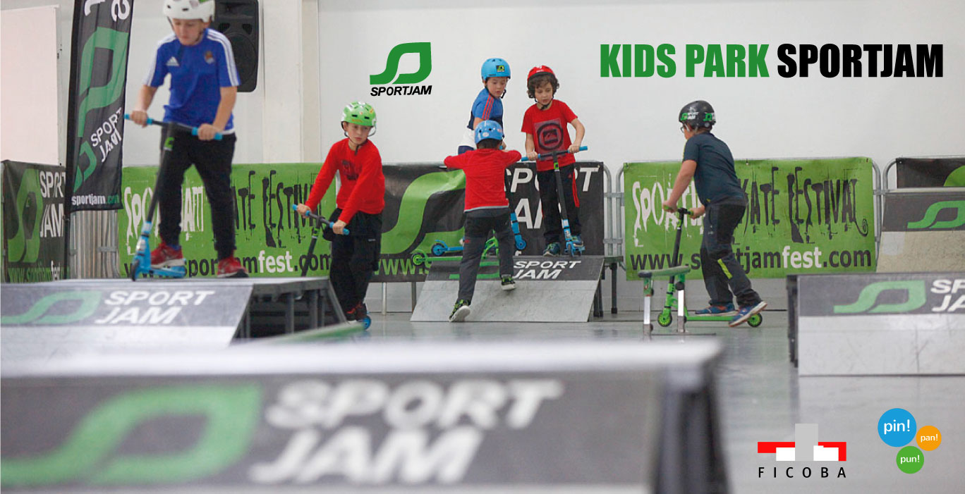 Sportjam Kids Park Tour, more than 15.000 visitors during Christmas Holidays.
