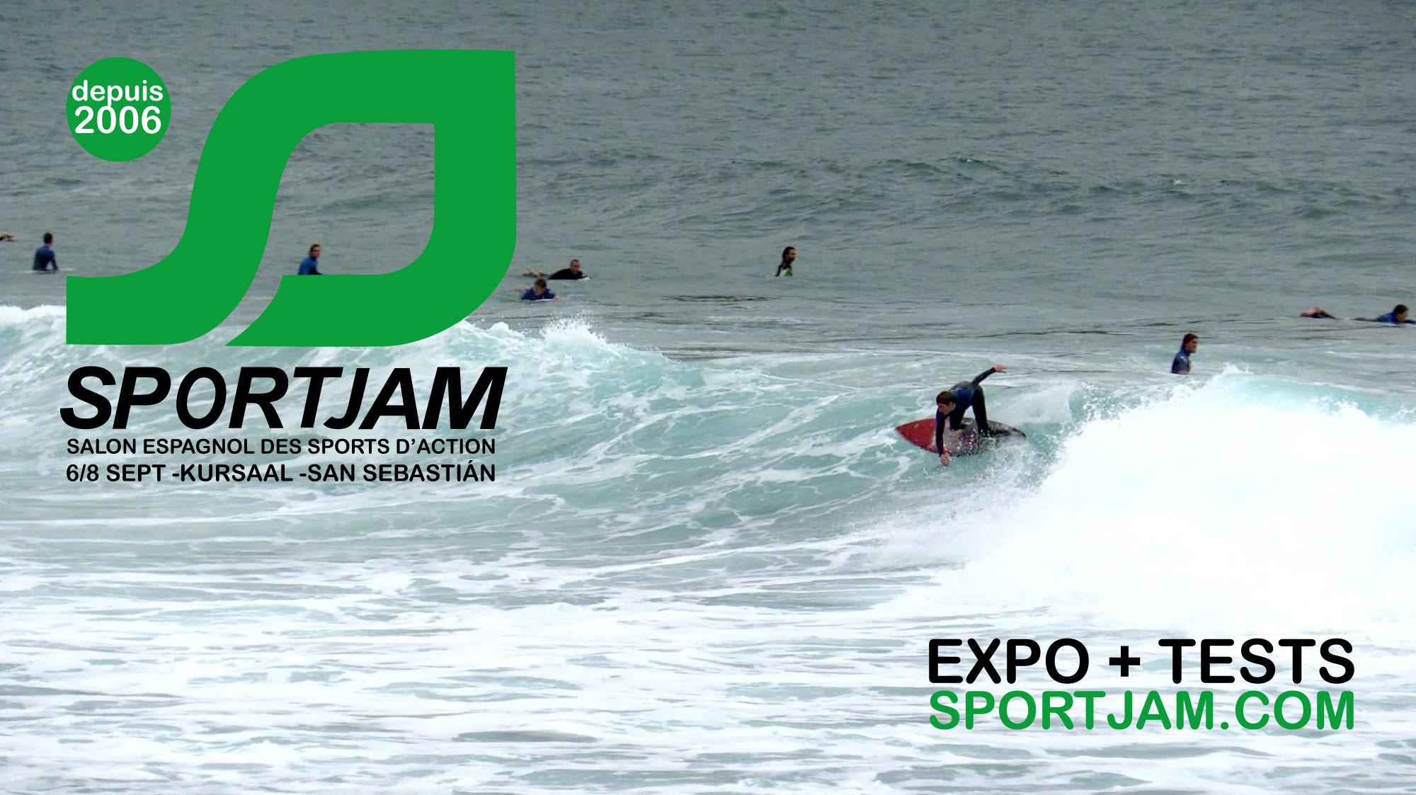 Le salon Sportjam 2019 aura lieu du 6 au 8 septembre dans le parc expo Kursaal de San Sebastián.