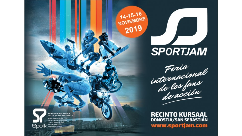 Sportjam Spanish show for action fans will place from november 14 to 16 at the Kursaal Exhibition center in San Sebastian.