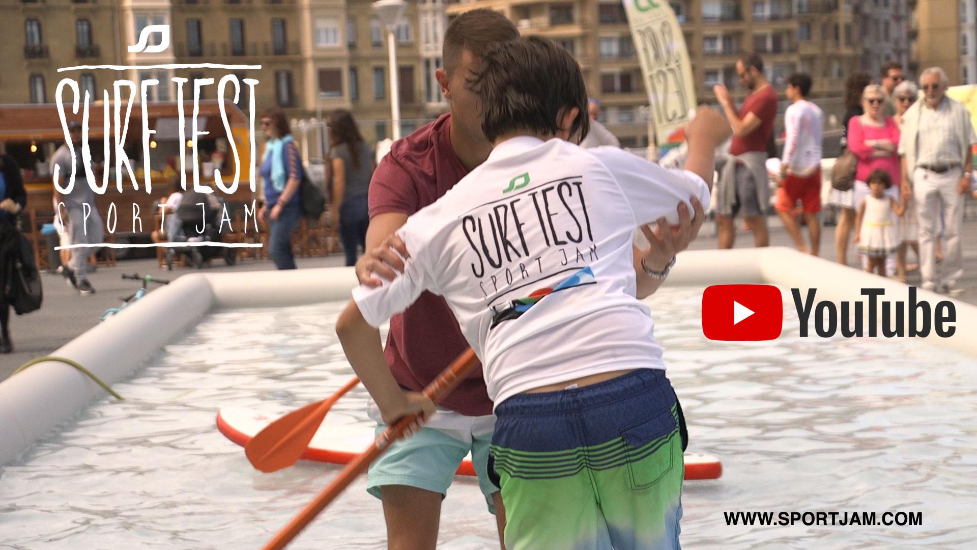 GRAN EXITO DEL NUEVO SPORTJAM SURF TEST 2019